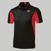 ST655.afb - Side Blocked Micropique Sport Wick ® Polo