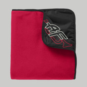 TB850 ...> Fleece & Poly Travel Blanket <131>