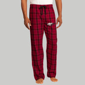 DT1800.afb - Young Mens Flannel Plaid Pant