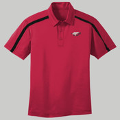 K547.afb - Silk Touch™ Performance Colorblock Stripe Polo